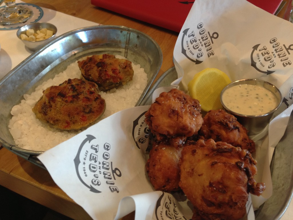 Connie and Ted's Clam Cakes