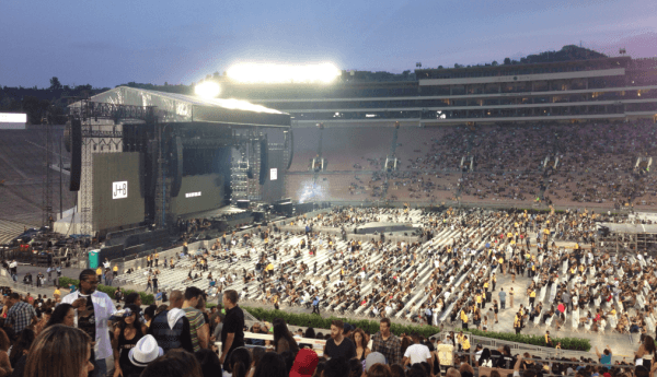 Beyonce Jay Z On The Run Tour Rose Bowl