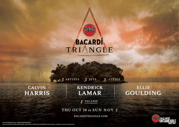 Bacardi Triangle Tickets