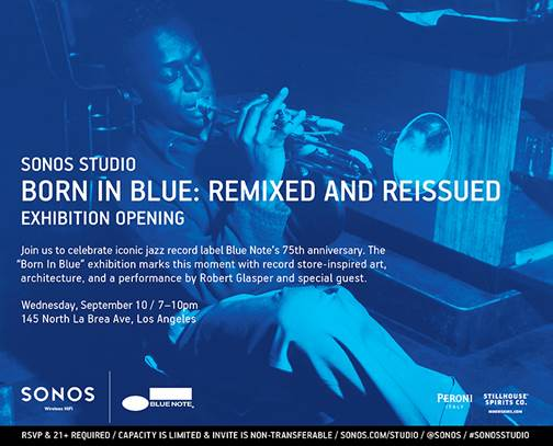 born in blue sonos studios